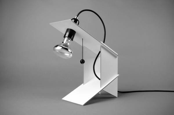 卡片式组装台灯